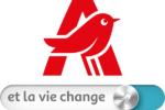 Nouvelle signature de la marque Auchan