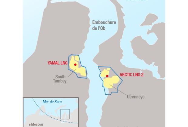 Participation de Total dans le projet Arctic LNG 2 en Sibérie