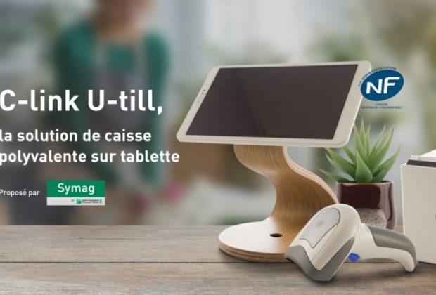 C-link U-Till, une solution numérique de caisse « tout-en-un »