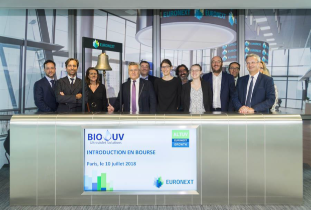 Introduction en Bourse de Bio-UV