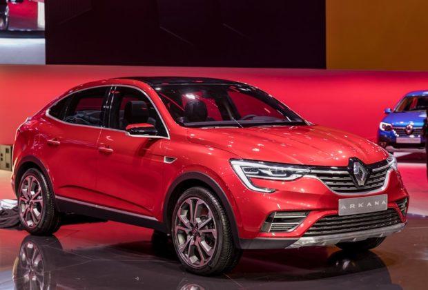 Le crossover Arkana de Renault dévoilé à Moscou