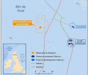 Total découvre des ressources en mer du Nord
