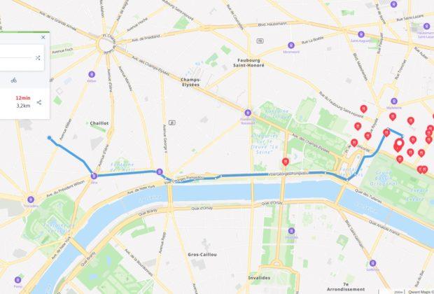 Qwant Maps : vos plans et itinéraires sans être suivi
