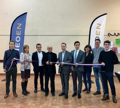 Neoen inaugure le parc photovoltaïque de Lapeyrouse-Fossat
