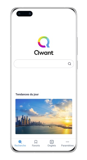 Mobile Huawei Qwant