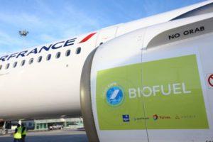 Total produit des biocarburants aériens en France