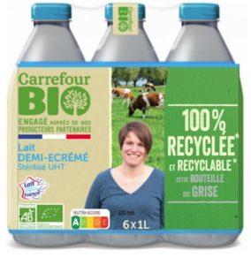 Carrefour Bio préfère les éleveurs bio français pour son lait