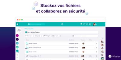 Une gestion de documents collaborative intégrée au réseau Whaller