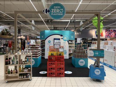 La consigne arrive chez Carrefour avec Loop
