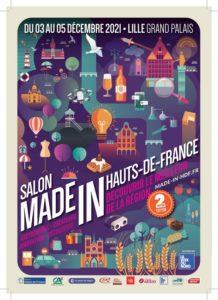 Salon Made in Hauts-de-France à Lille du 3 au 5 décembre 2021