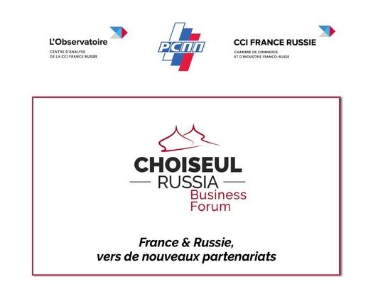 Forum d'affaires franco-russe Choiseul 2021